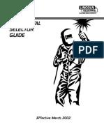 Weld Metal Selector Guide