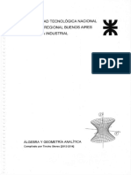 Resumen Completo Algebra y Geometria Ana