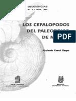 (Geociencias No.1) Cantú-Chapa A. - Los cephalopodos del Paleozoico de Mexico (1997)