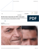 Brasil ensaia recuperação em 2020 a conta-gotas | Economia | EL PAÍS Brasil