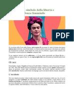 Frida Kahlo - czytanka