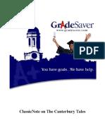 The-Canterbury-Tales-GradeSaver-ClassicNote