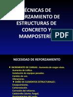 TÉCNICAS DE REFORZAMIENTO DE ESTRUCTURAS agosto 1 2010.pptx