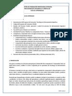 Guia de Aprendizaje Comprender ENTRENAMIENTO DEPORTIVO(1)