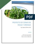 Proyecto de Zonas de Riego, Zimatlán, Oaxaca