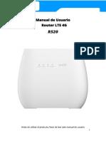 Manual de usuario Eltel R520