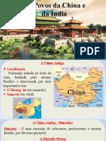 7 - Povos da China e da Índia