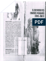 Denis Sulmont El Movimiento Obrero Peruano 1890 1980 Reseña Histórica (Completo)