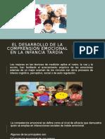 El desarrollo de la comprensión emocional en la infancia