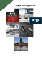 Pruveeo F5 Dash Cam with WiFi