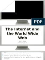 The Internet and the World Wide Web (1)
