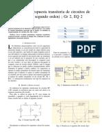 1Practica 3 Respuesta transitoria de circuitos deprimer y segundo orden) ; Gr 2, EQ 2
