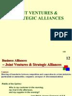 8-Joint Ventures Strategic Alliances