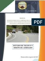 Estudio de Trafico y Diseño de Afirmado
