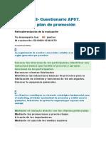AP07-EV02- Cuestionario AP07. Diseñar el plan de promoción