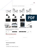Paket Sound System Masjid E _ Sound System Masjid _ Audio Pro