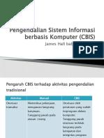 Pengendalian Sistem Informasi berbasis Komputer (CBIS)