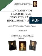 EL MÉTODO Y ENSAYO (DESCARTES)