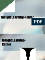 Insight learning -Kohler.ppt