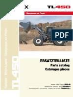 TL450 0101 Parts Catalog