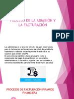 PROCESO DE LA ADMISIÓN Y LA FACTURACIÓN