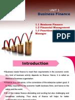 Financial MAnagement -Chp 1