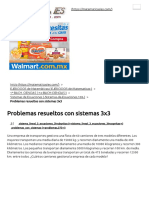 Problemas resueltos con sistemas 3x3 - Matemáticas IES