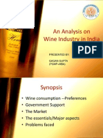 An Analysis of Indian Wine Industry