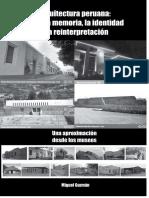 Arquitectura peruana Entre la memoria, la identidad y la reinterpretación.