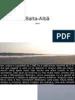Balta-Alba_istoric
