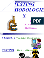 Classification of Testings