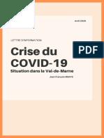 Crise du COVID-19 dans le Val-de-Marne