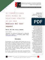Icono 14. A8/ESP. El ciberactivismo, nuevo modelo de Relaciones Públicas en las ONGs