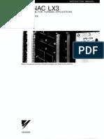 LX3 Maintenance Manual TOE-C843-9.25B