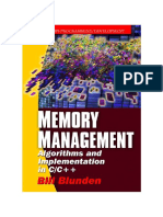 Memory Management - Algorithms And Implementation In C-C++ (2002)