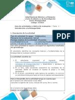 Guia de actividades y Rúbrica de evaluación - Tarea 1 - Introduccion a la bioseguridad (1)