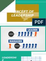 Cross Cultural Management - Concept of Leadership
