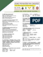CAMPANHA UMA HORA POR DIA TODO DIA - LISTA 12  -  VERBOS