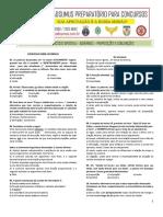 EXERCÍCIOS ADVÉRBIOS - PREPOSIÇÕES E CONJUNÇÕES (1)