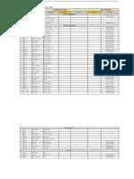 Daily Attendance sheet 22-03-2020