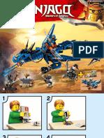 Lego set 70652 Ninjago Stormbringer