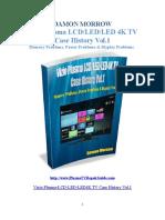 Vizio Plasma Lcd Led Led 4k Tv Case History Vol.1 Damon Morrow