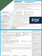 SBI MF COMMON Transaction Form COA & COB