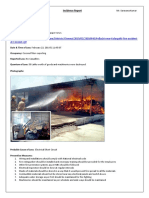 Loss Incidence Report - Coir Factory, Pollachi