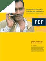 Design Research Contextual Invention