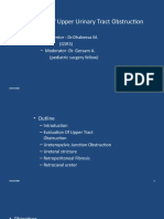Final Management of Upper Urinary Tract Obstruction