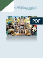 Clasificación de los animales 4 Primaria