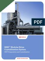 Veolia - MBD Modular Brine Crystallization System