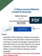 CSAO Endoscope Reprocessing