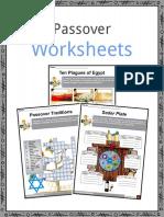 Passover Worksheet English